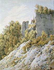 C.D.Friedrich/Elbsandsteingeb./Graf.1828 by AKG  Images