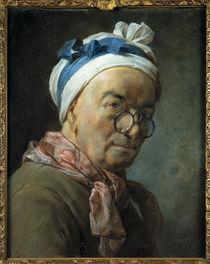 Chardin, Selbstbildnis mit Zwicker von AKG  Images