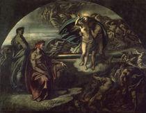 Dante und Vergil i.d.Unterwelt / Feuerb. von AKG  Images