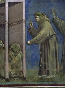 Giotto, Vision der Brueder, Ausschnitt von AKG  Images