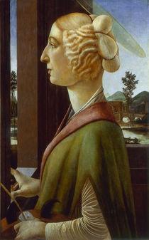 Botticelli/ Die heilige Katharina by AKG  Images