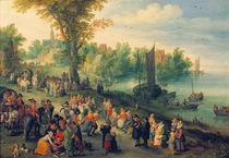 J.Brueghel d.Ae., Dorflandschaft by AKG  Images
