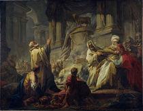 J.H.Fragonard, Jerobeams Goetzendienst von AKG  Images