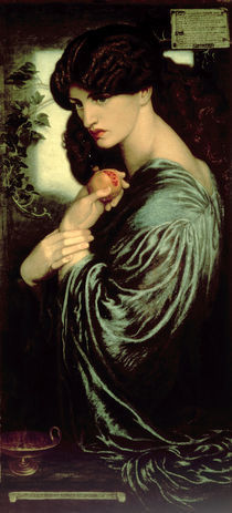 Dante Gabriel Rossetti/Proserpina/um1873 von AKG  Images