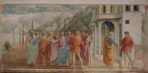 Masaccio, Der Zinsgroschen by AKG  Images