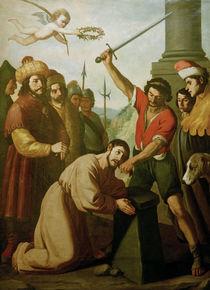 F.de Zurbaran, Martyrium des hl.Jakobus von AKG  Images