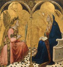 A.Lorenzetti, Verkuendigung an Maria von AKG  Images