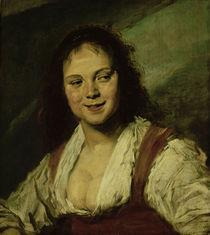 Frans Hals/ Zigeunerin/ 1628-30 von AKG  Images