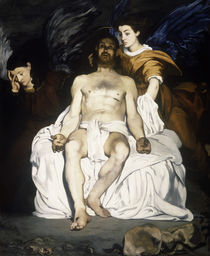 E.Manet, Toter Christus mit Engeln by AKG  Images