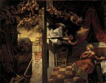 Tintoretto, Verkuendigung an Maria von AKG  Images