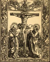 Albrecht Duerer, Christus am Kreuz von AKG  Images