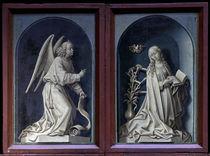 R.van der Weyden, Verkuendigung an Maria by AKG  Images