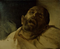 Th.Gericault, Der Guillotinierte von AKG  Images