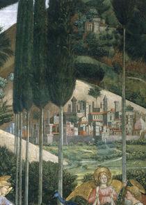 B.Gozzoli, Landschaft / Capp. dei Magi von AKG  Images