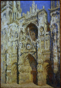 Claude Monet, Kathedrale von Rouen von AKG  Images