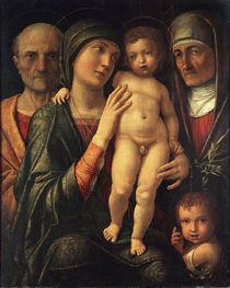 Andrea Mantegna, Heilige Familie von AKG  Images