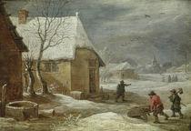 David Teniers d.J., Winter by AKG  Images