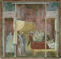 Giotto, Frranziskus heilt Johannes v.I. by AKG  Images