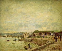 Alfred Sisley, Seine bei Tagesanbruch by AKG  Images