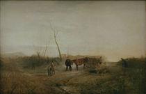W.Turner, Frostiger Morgen von AKG  Images