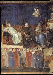 A.Lorenzetti, Tugenden Pax, Fortitudo.. von AKG  Images