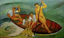 A.Macke, Grosser Fischzug, 1913 von AKG  Images