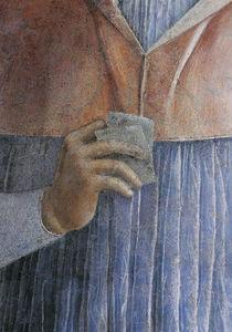Kard.Francesco Gonzaga, Hand  / Mantegna by AKG  Images