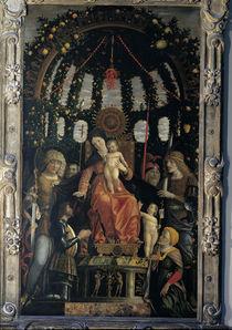 Mantegna, Madonna della Vittoria von AKG  Images