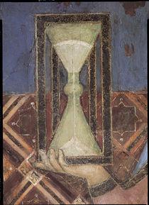 A.Lorenzetti, Sanduhr der Temperantia von AKG  Images