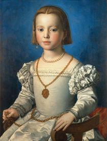 Bia de' Medici / Gem.v.Bronzino by AKG  Images