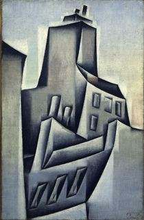 Juan Gris, Haeuser in Paris/ 1911 by AKG  Images