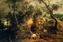 P.P.Rubens/ Das festgefahrene Fuhrwerk by AKG  Images