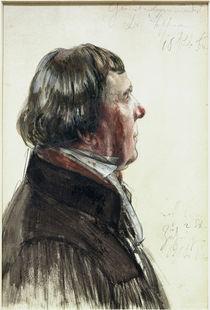 Ludwig Hoffmann,Bildnisstudie v.A.Menzel by AKG  Images