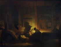Rembrandt (Werkstatt), Hl. Familie by AKG  Images