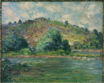 C.Monet, Die Seine bei Port Villez by AKG  Images