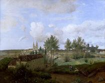 C.Corot, Vue de Soissons by AKG  Images