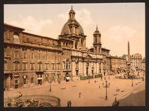 Rom, Piazza Navona / Photochrom by AKG  Images