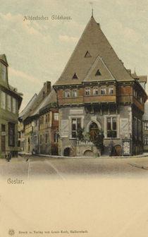 Goslar, Gildehaus / Postkarte von AKG  Images