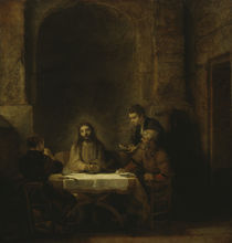 Rembrandt, Christus in Emmaus by AKG  Images