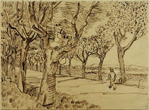 V.v.Gogh, Strasse nach Tarascon von AKG  Images