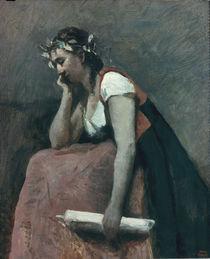 Corot, La Poesie/ um 1868 by AKG  Images