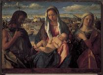 G.Bellini, Maria mit Kind u.Heiligen von AKG  Images