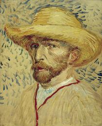Vincent van Gogh, Selbstbildnis 1887 by AKG  Images