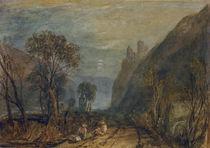 W.Turner, Bautsburg am Rhein von AKG  Images