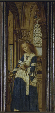 Jan van Eyck, Die Heilige Katharina von AKG  Images