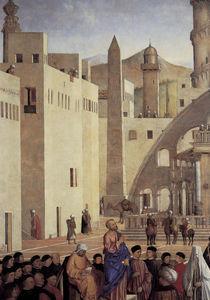 G.Bellini, Predigt des Markus, Ausschn. von AKG  Images