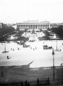 Berlin,Blick vom Schloss auf Altes Museum von AKG  Images