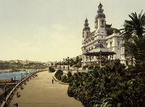 Monte Carlo, Casino / Foto um 1895 by AKG  Images