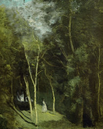 Camille Corot,Parkwinkel in Port-Berteau by AKG  Images
