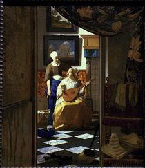 Vermeer/ Der Liebesbrief/ 1669-70 von AKG  Images